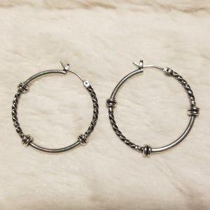 Jewelry - Silver hoop earrings